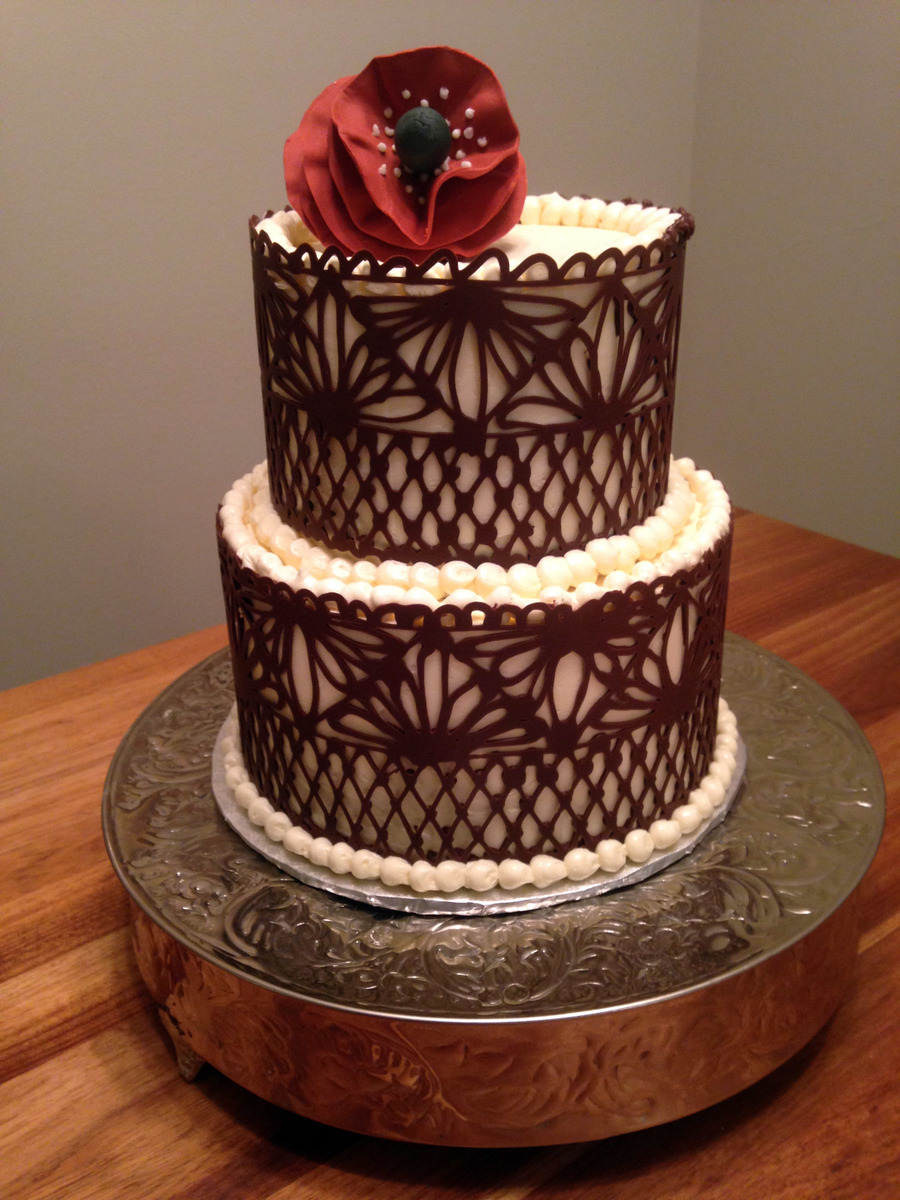 chocolate lace cakecentralcom