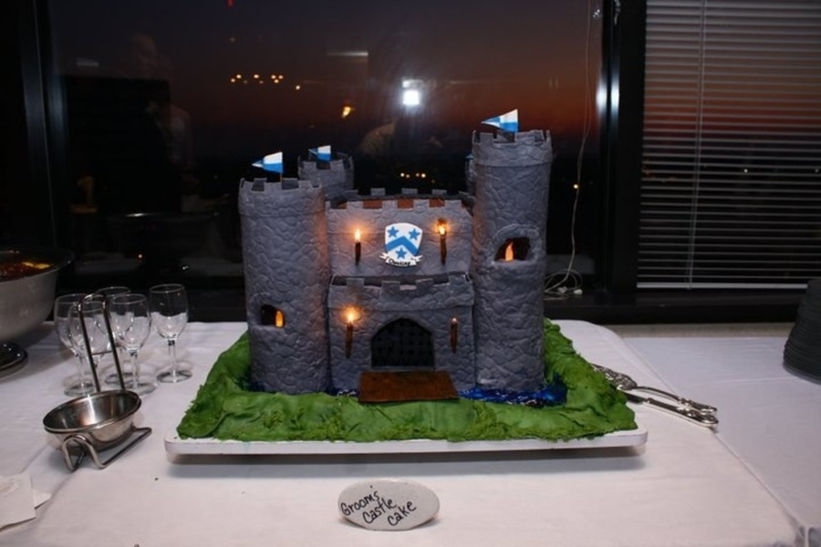 What To Use For Castle Cake Turrets