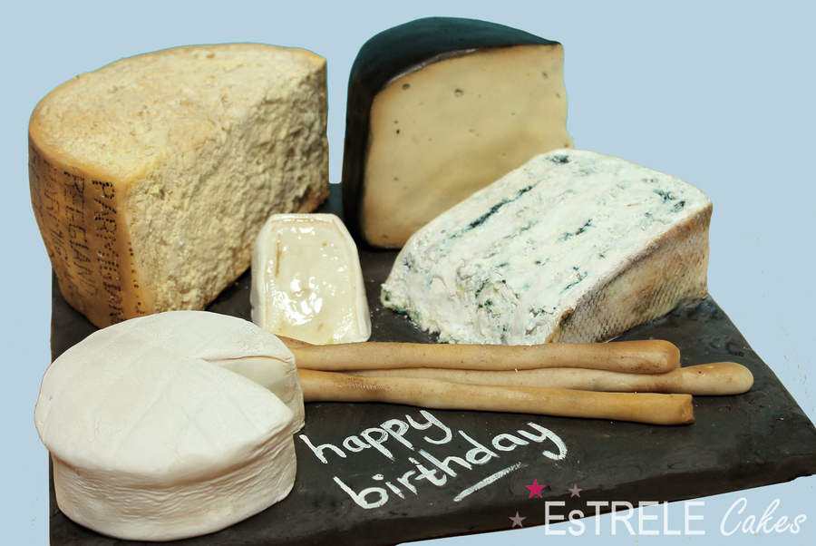 Cheese Board Cake CakeCentralcom