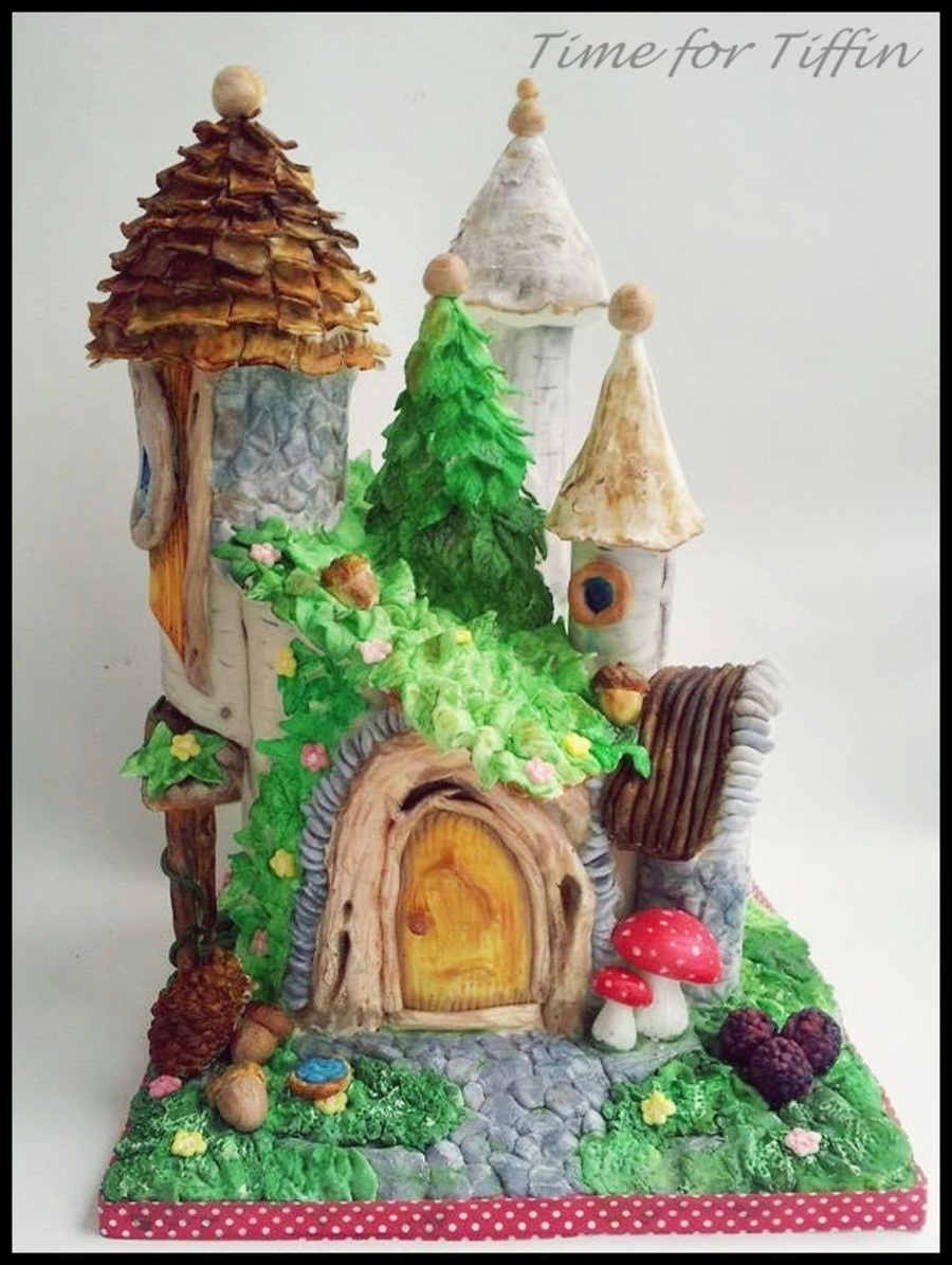Fairy House on Cake Central