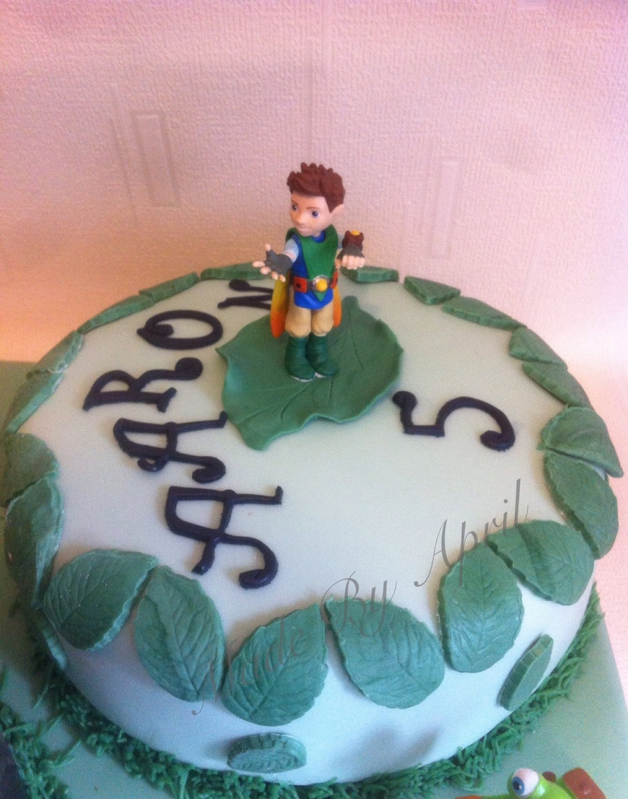 Power Rangers Take On Tree Fu Tom Cakecentral