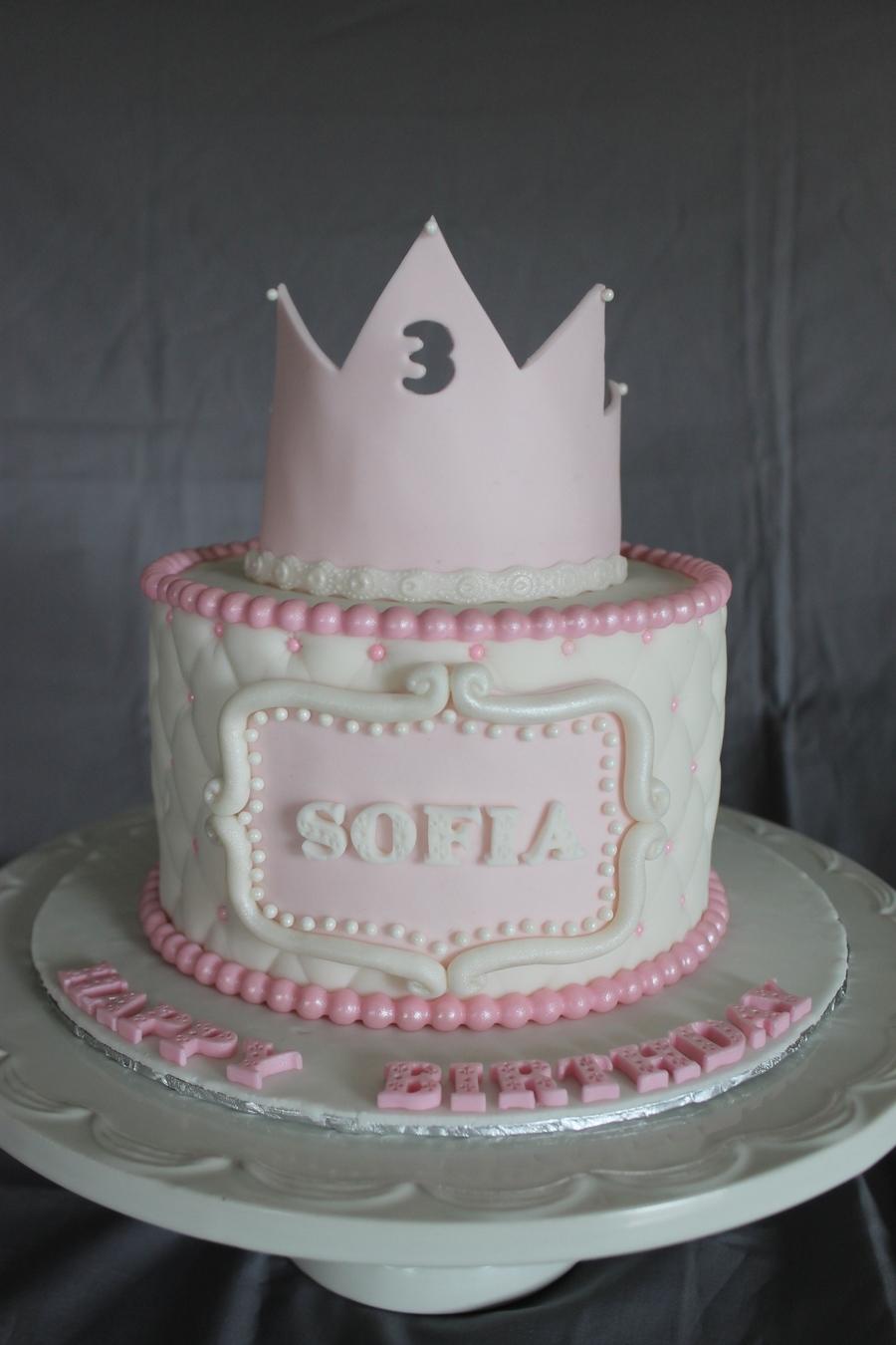 Phenomenal Princess Themed Birthday Cake Cakecentral Com Funny Birthday Cards Online Inifofree Goldxyz