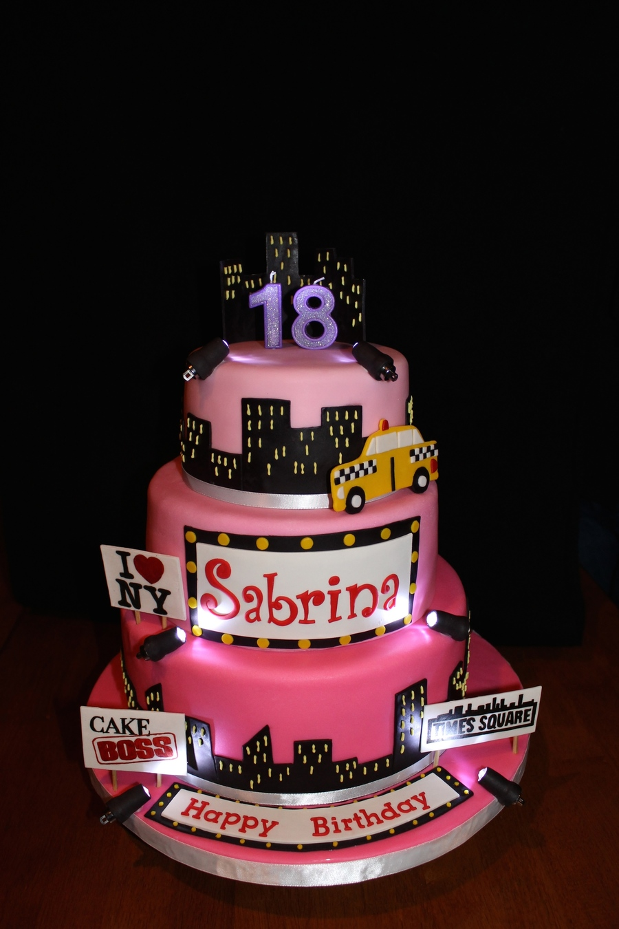 Nyc Themed Birthday Cake Cakecentral