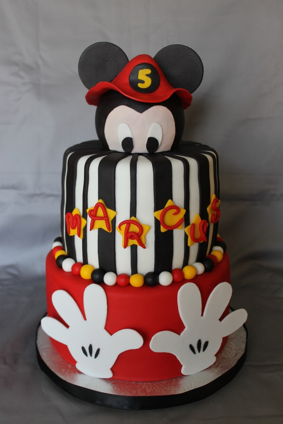 Fireman Mickey Mouse Birthday Cake Cakecentral Com