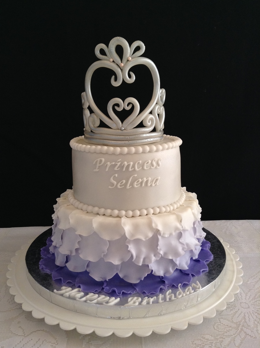Princess Sophia Themed Birthday Cake Cakecentral Com