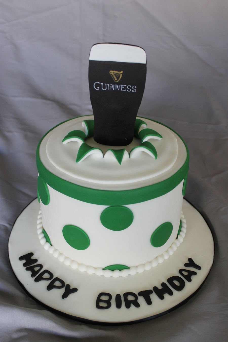 Excellent Guiness Beer Birthday Cake Cakecentral Com Birthday Cards Printable Benkemecafe Filternl
