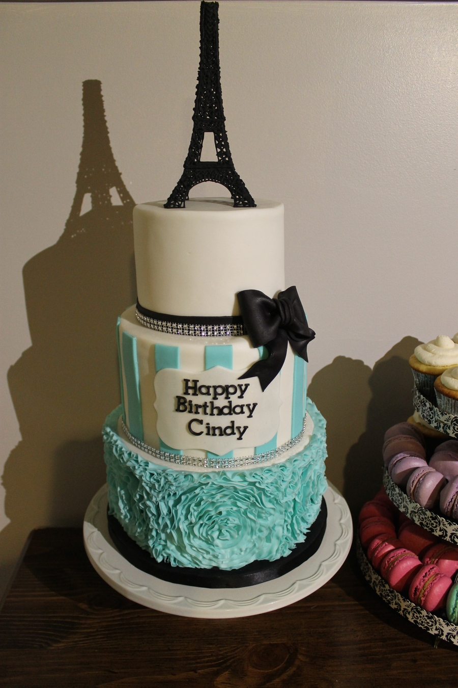 Paris Themed Birthday Cake Cakecentral