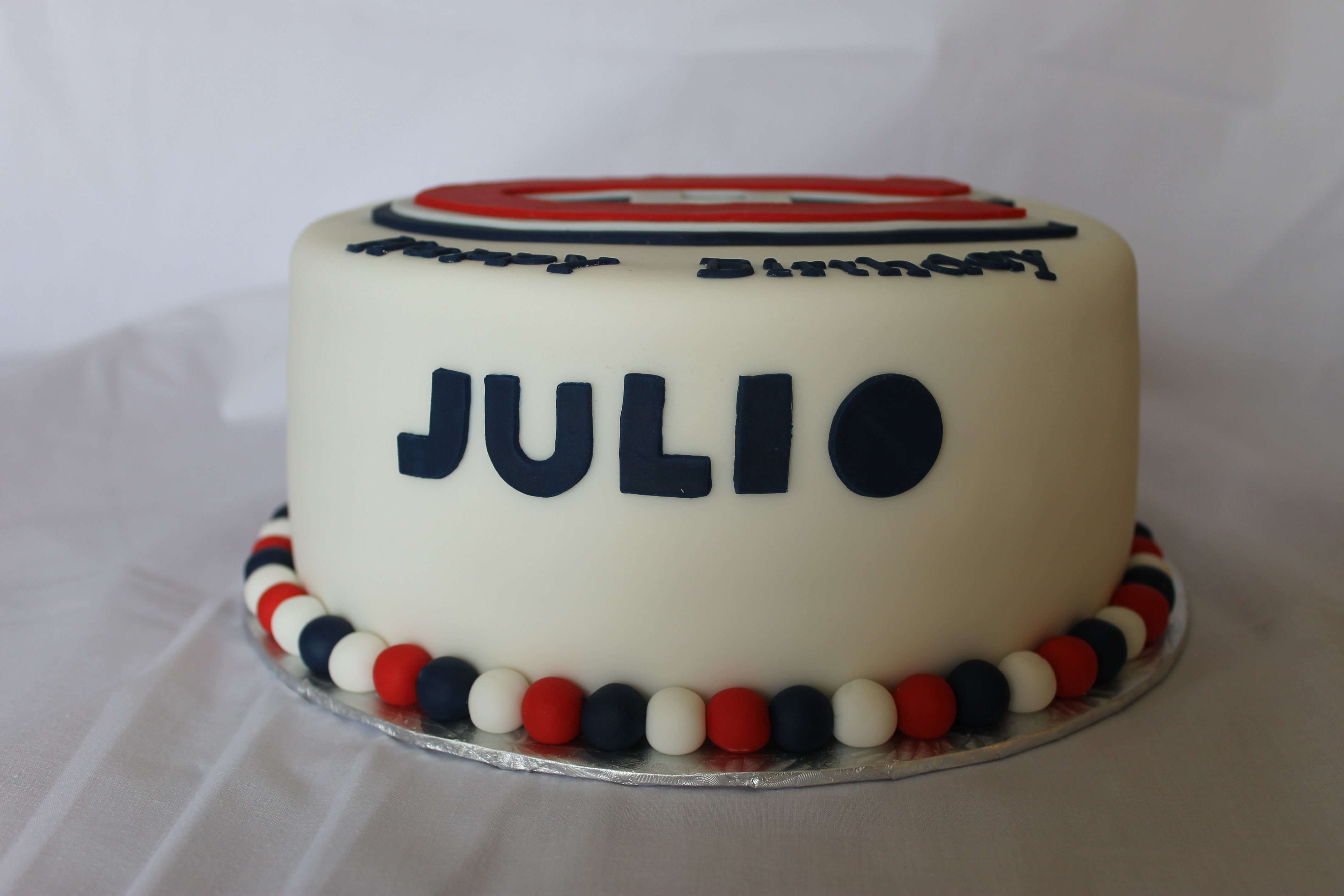 Montreal Canadians Birthday Cake Cakecentral