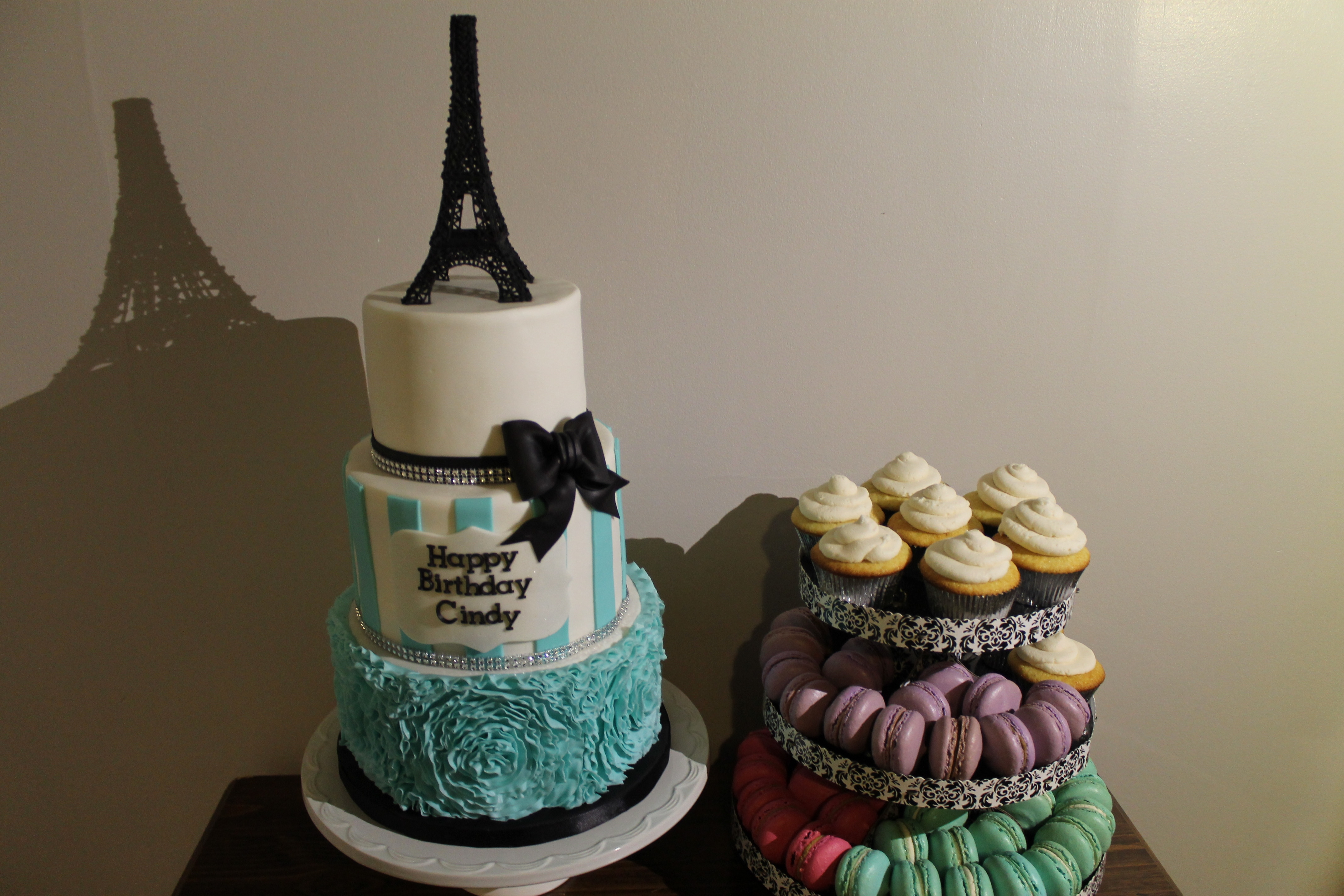Paris Themed Birthday Cake Cakecentral Com
