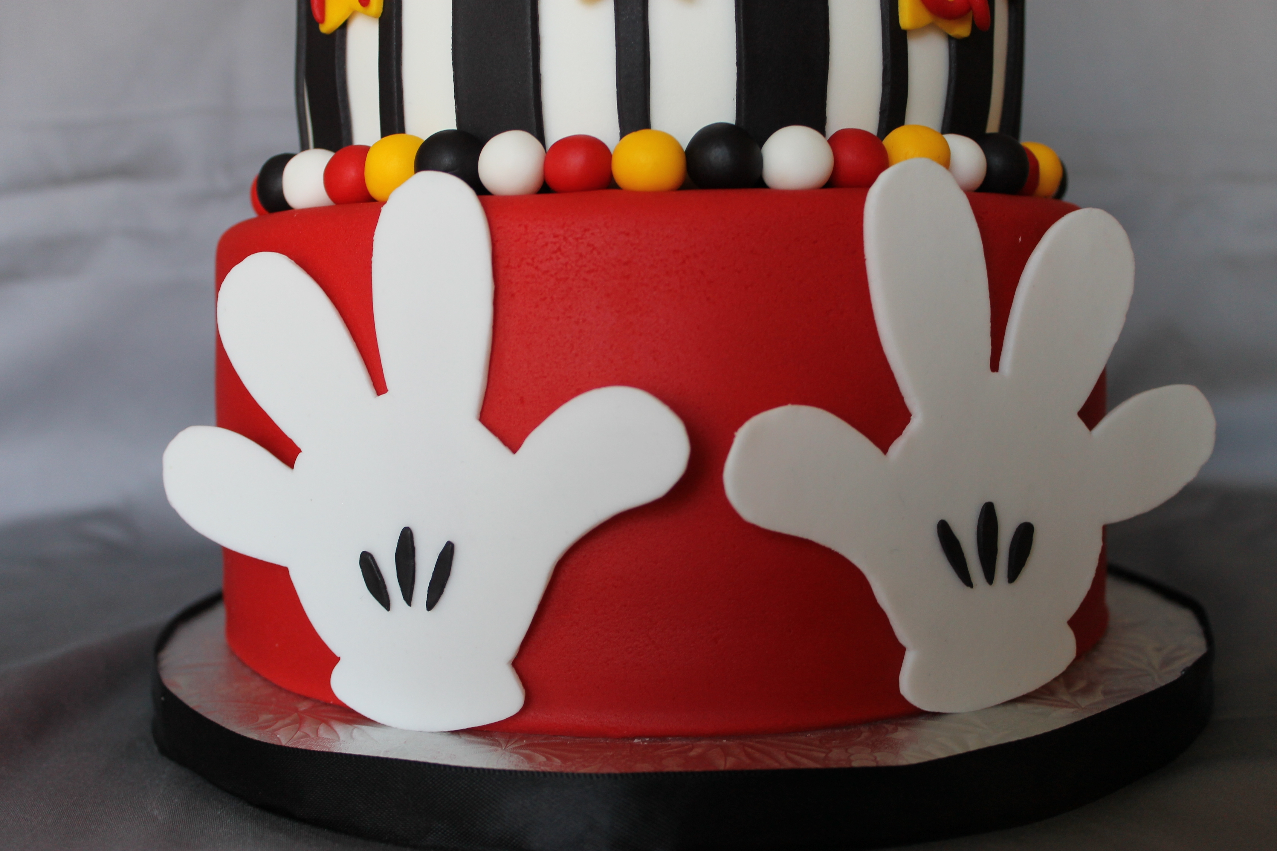 Fireman Mickey Mouse Birthday Cake Cakecentral