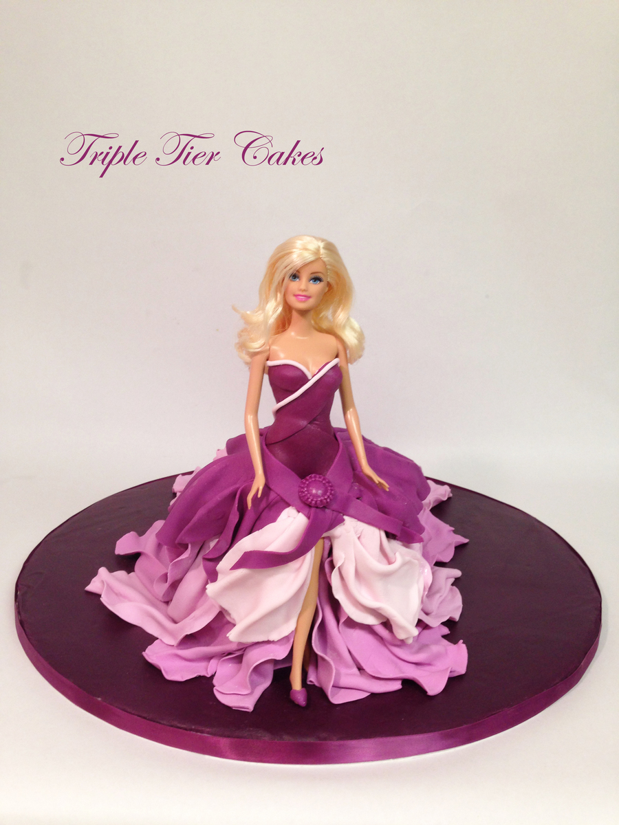 Barbie Cake Images Doll : Barbie Doll Cake - CakeCentral.com