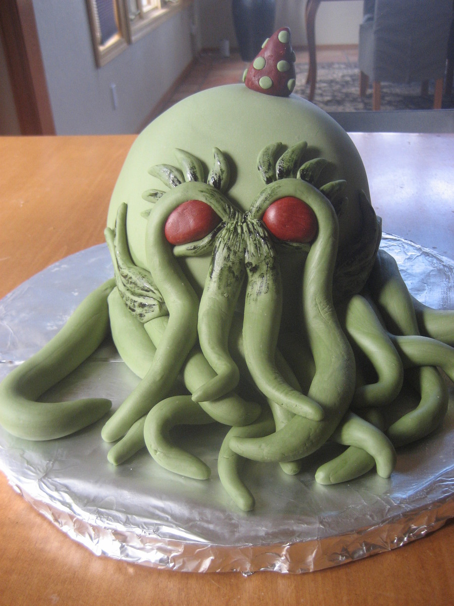 Cooper's Cthulhu on Cake Central