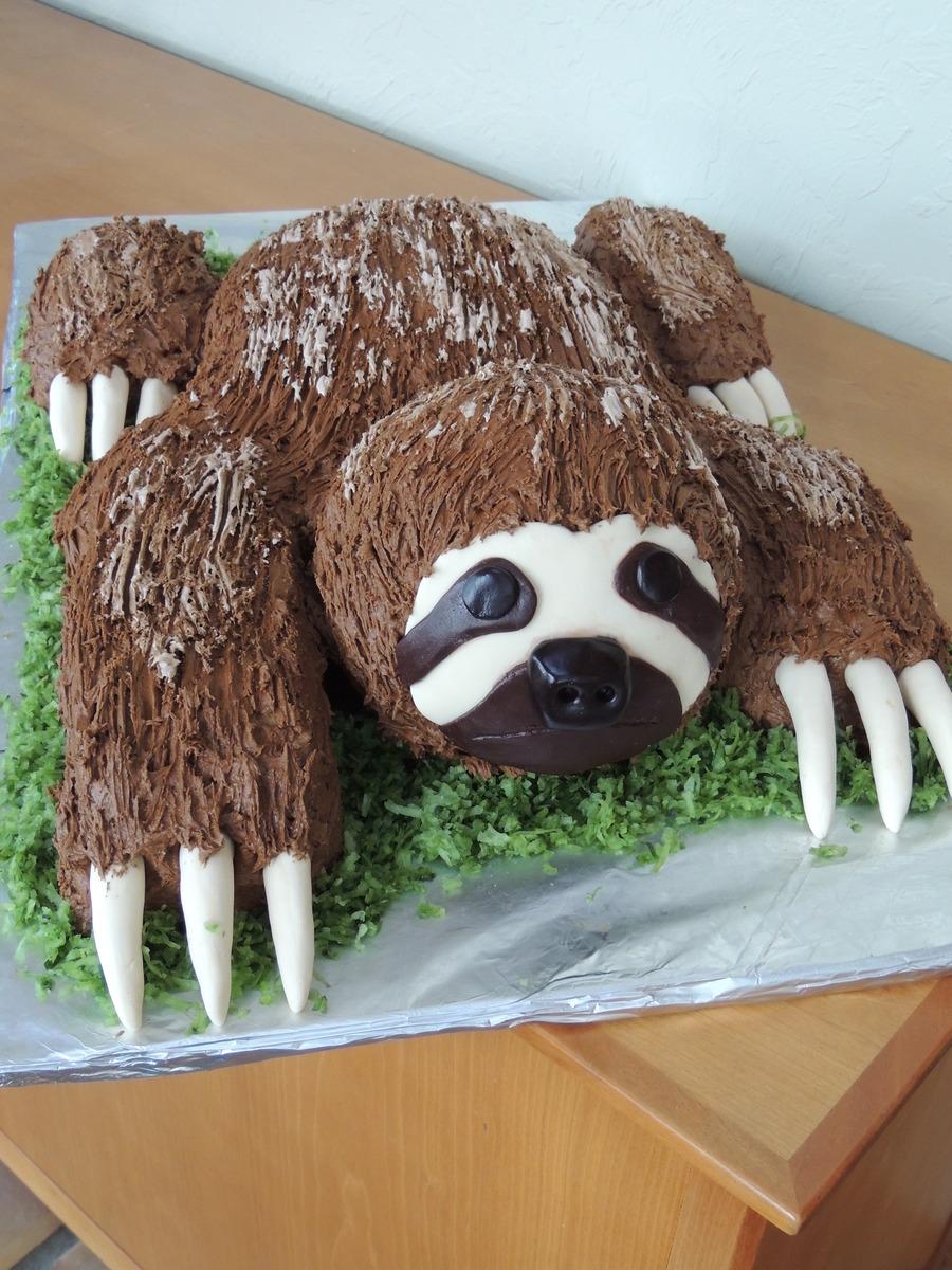 Sloth Cake Cakecentral Com