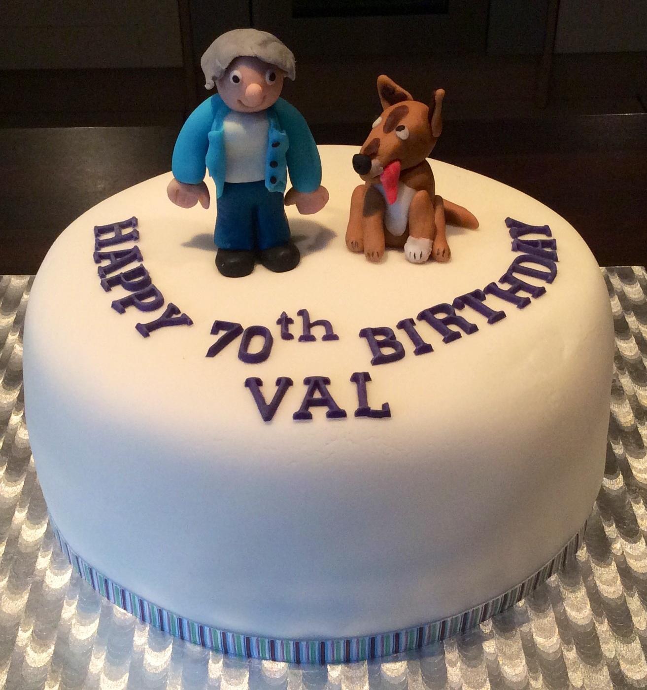 Happy Birthday Fiona Cake