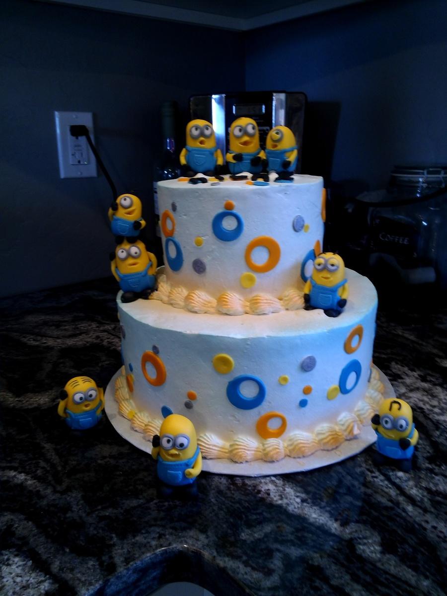 Despicable Me Minion Cake Cakecentral