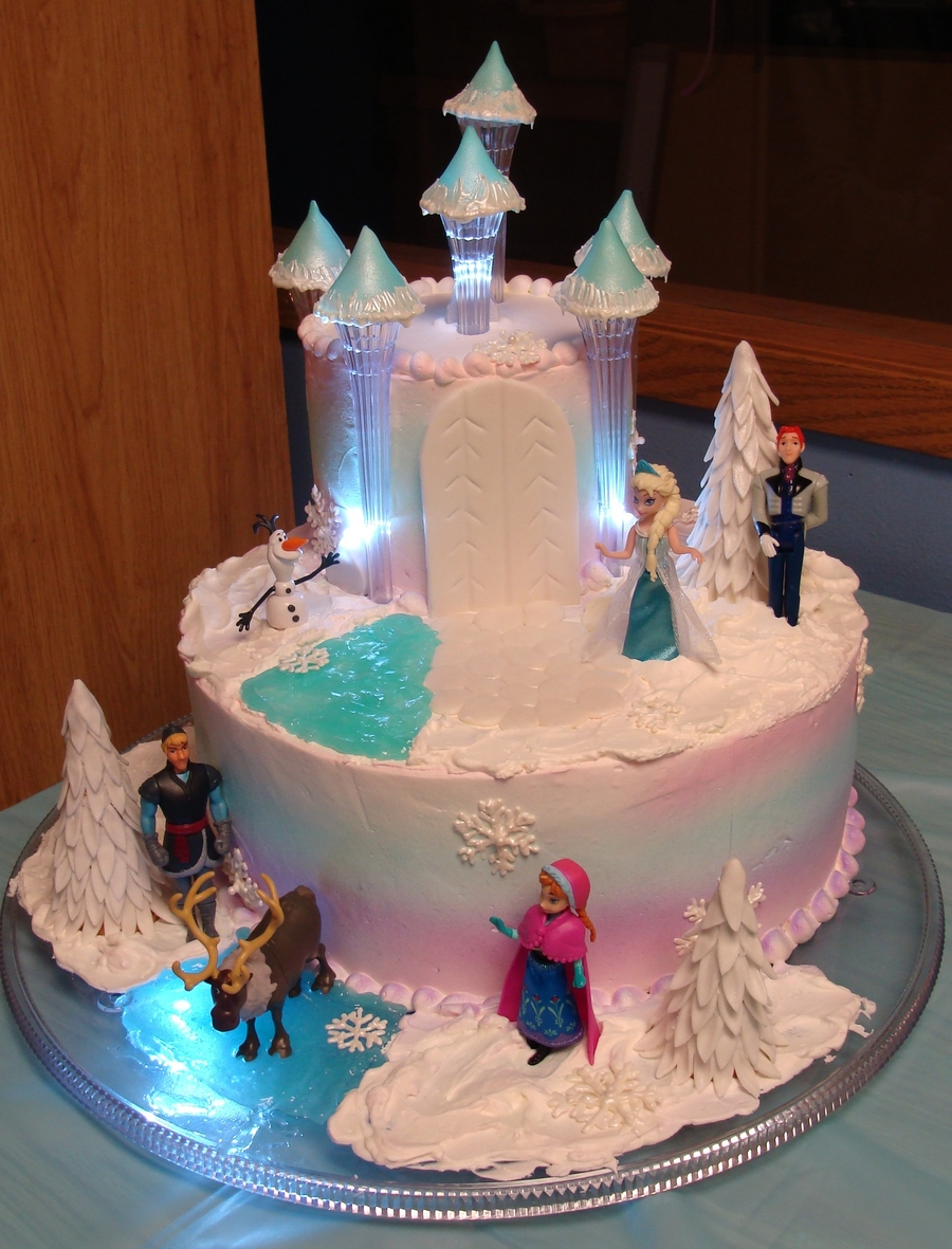 Frozen Cake Decoration Images : Disneys Frozen - CakeCentral.com