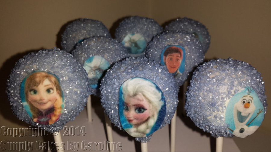 Frozen Cakepops For A Huddersfield Customer. on Cake Central