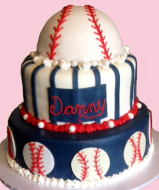 Fine Dodgers Baseball Birthday Cake Cakecentral Com Funny Birthday Cards Online Benoljebrpdamsfinfo