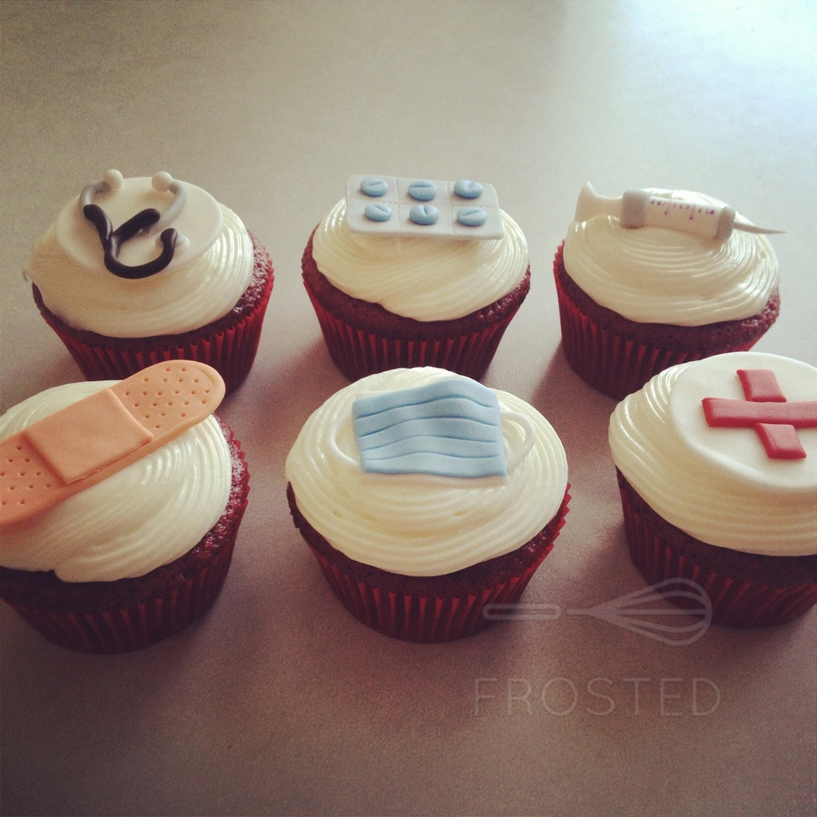 Nurse Themed Cupcake Toppers CakeCentralcom