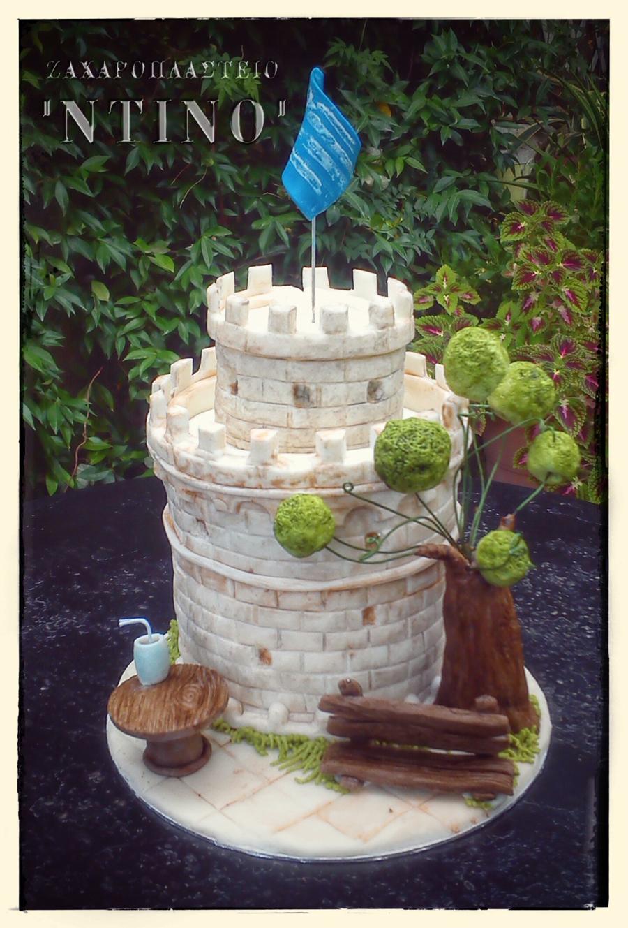 thessalonikis white castle cakecentralcom