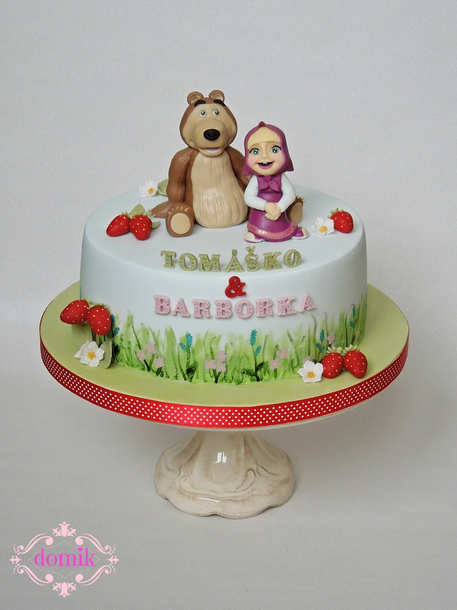 Masha And The Bear Cakecentral Com