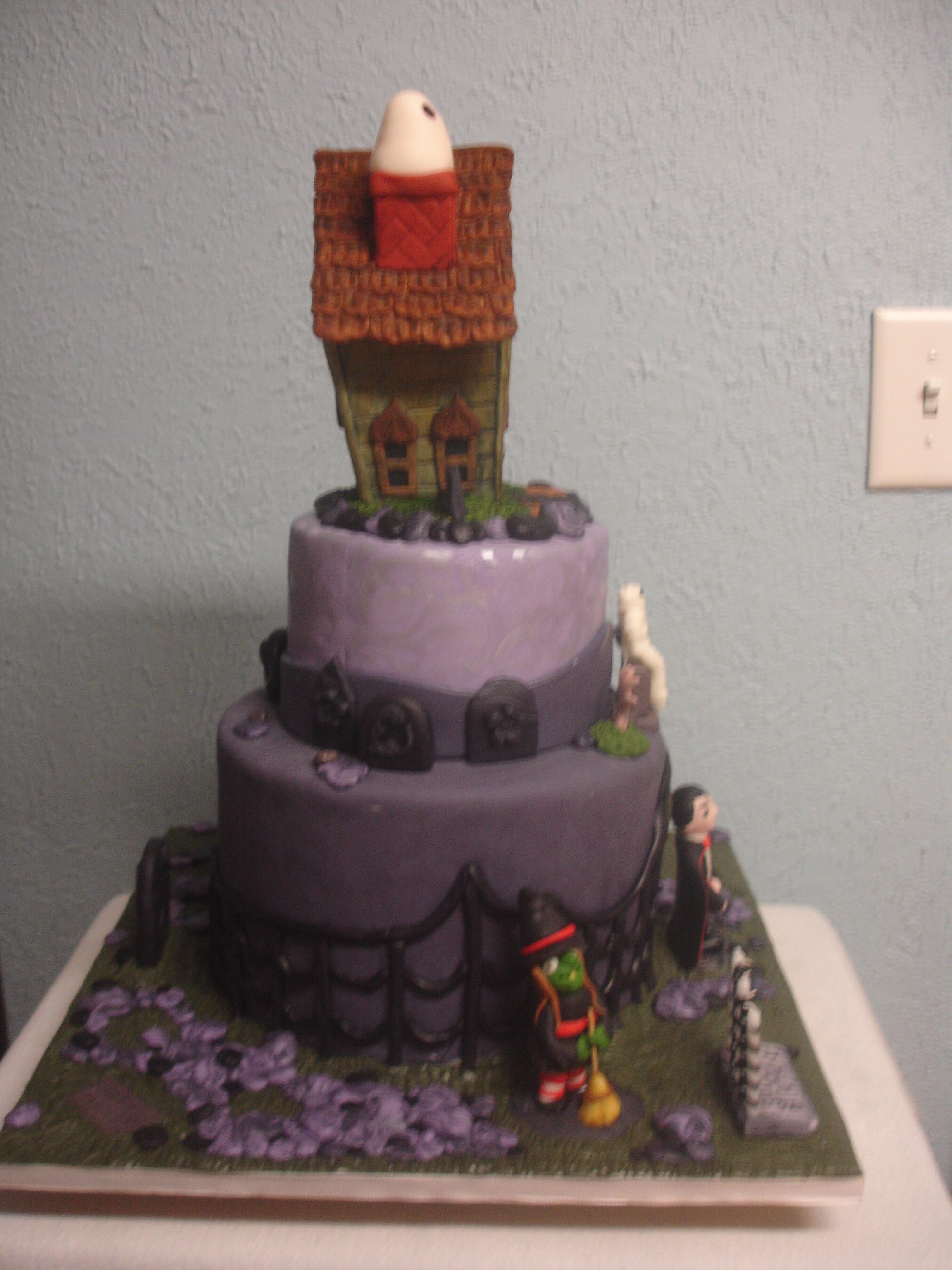 Halloween Birthday Cake Cakecentral