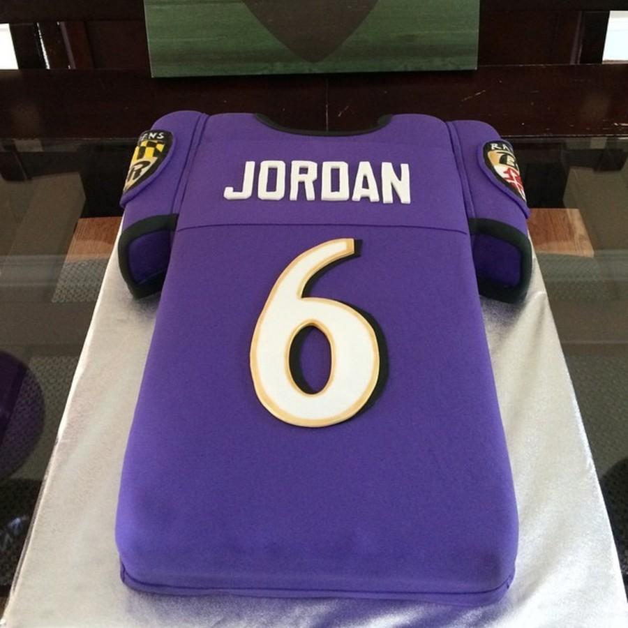 Pleasing Baltimore Ravens 6Th Birthday Cake Cakecentral Com Personalised Birthday Cards Akebfashionlily Jamesorg