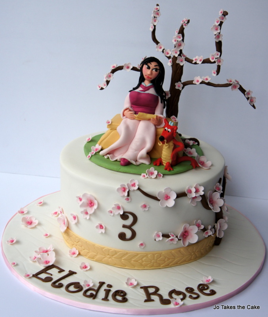 Cake Decorating Central Hours : Mulan - CakeCentral.com