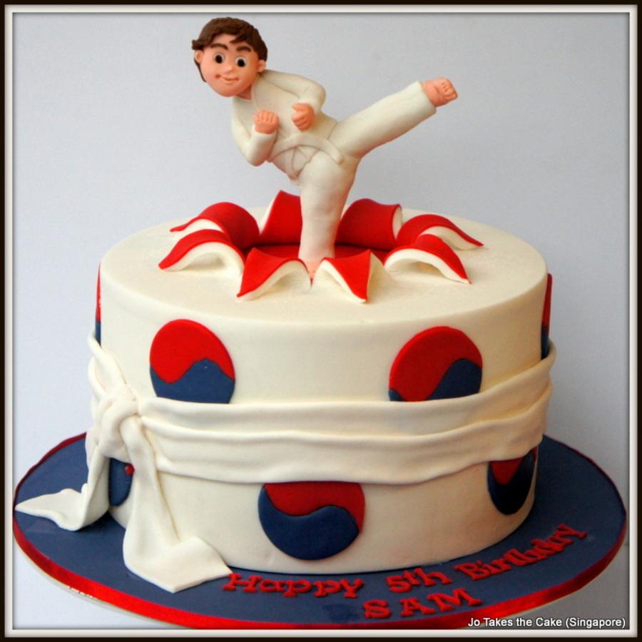 Karate Cakes Photos