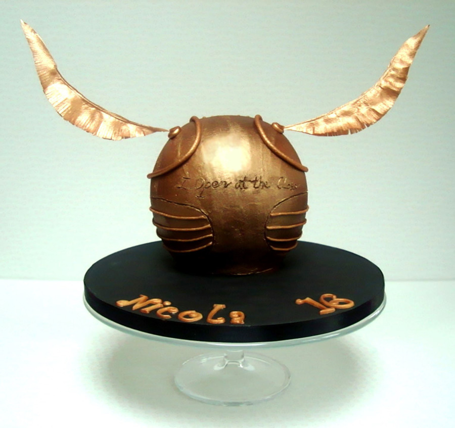 The Golden Snitch Cakecentral Com