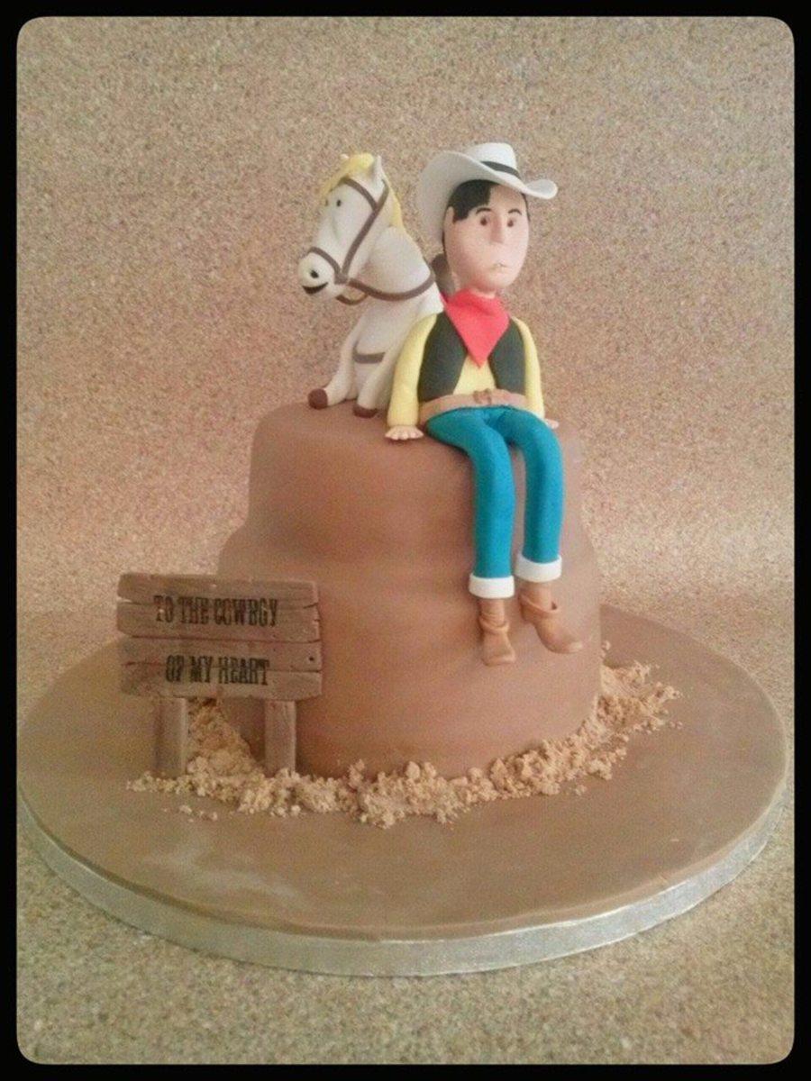 Lucky Luke Birthday Cake CakeCentralcom