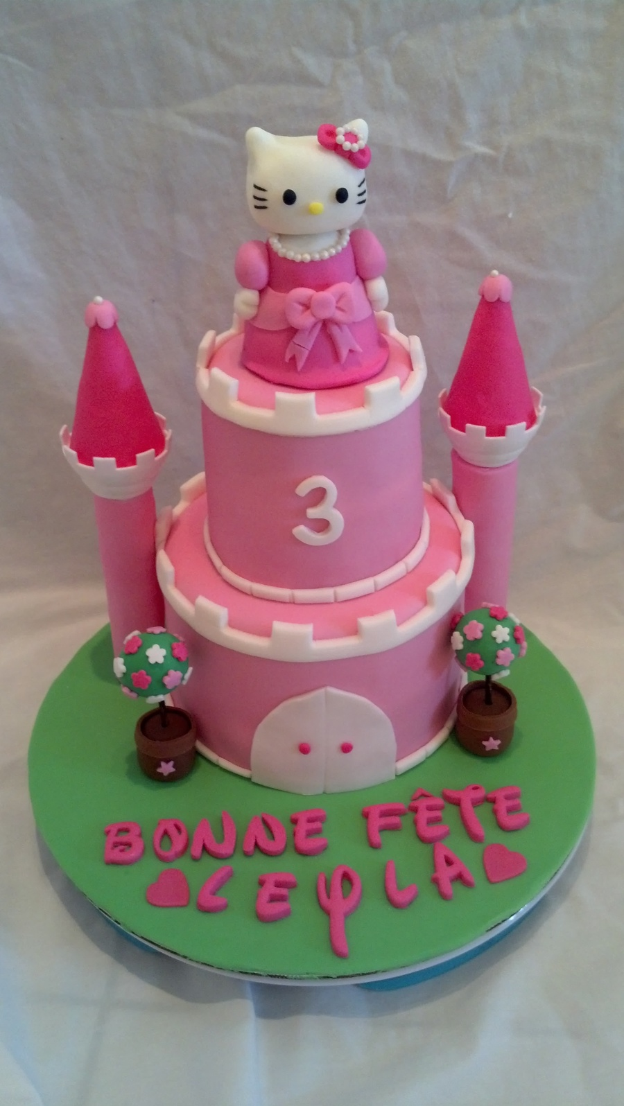 Hello Kitty Princess Castle - CakeCentral.com
