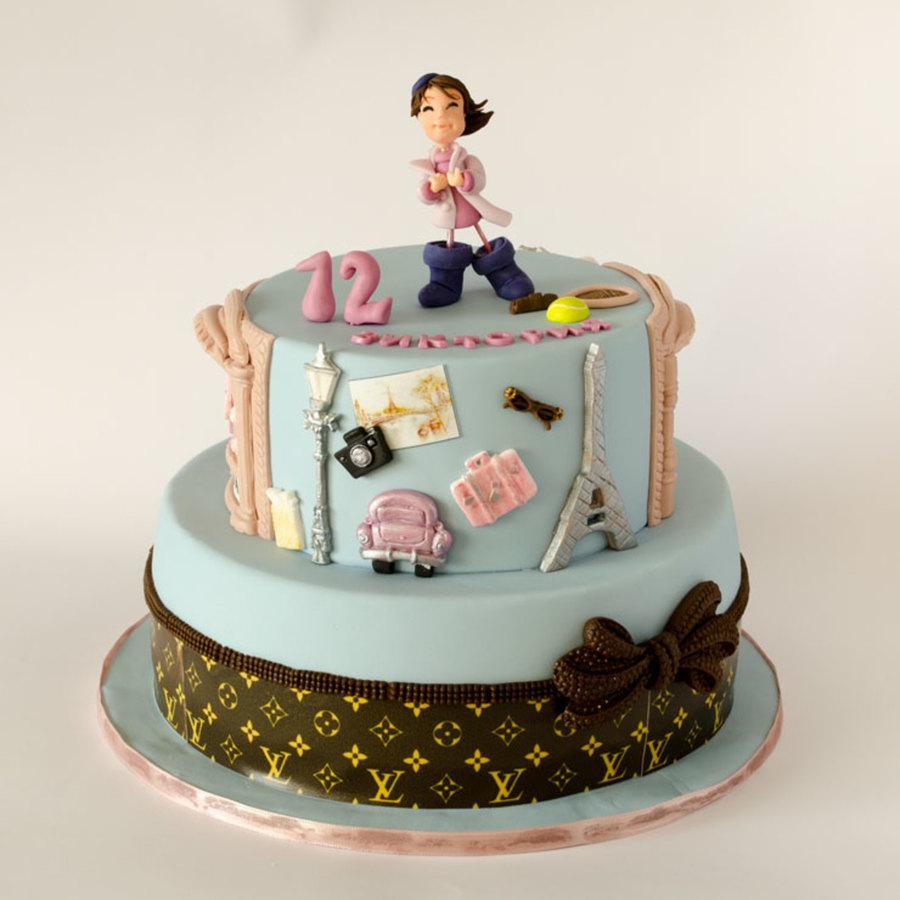 Fashion Cake - CakeCentral.com