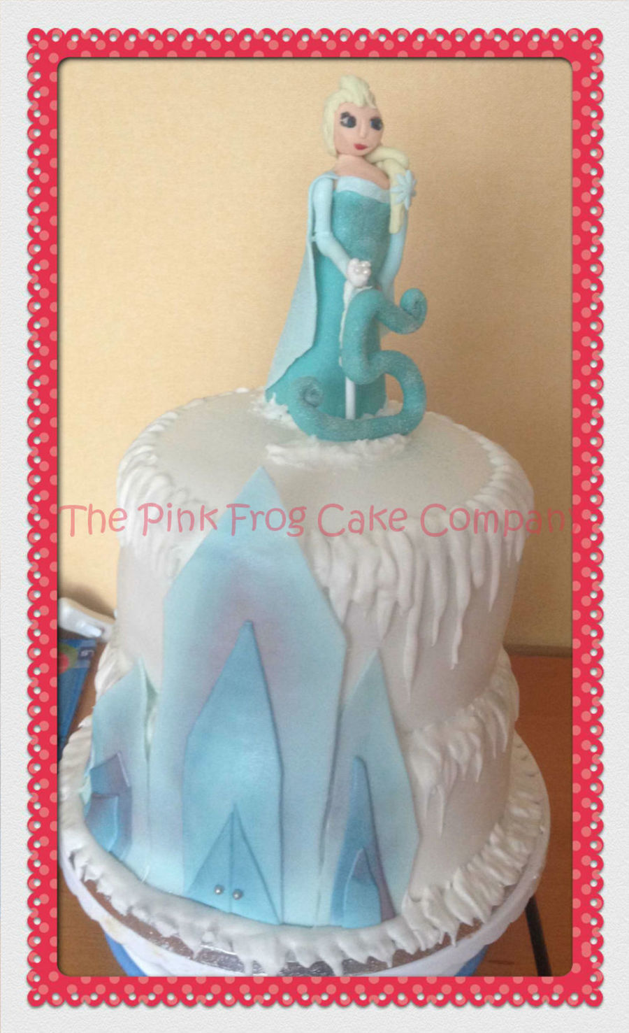 Elsa Frozen Cake For A 5 Year Olds Birthday Cakecentral Com