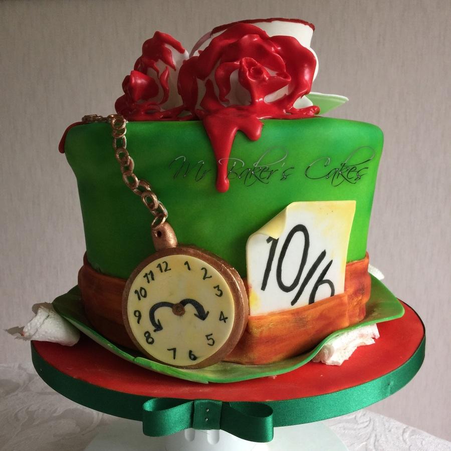 Edible Cake Decorations Alice In Wonderland : Alice In Wonderland Cake - CakeCentral.com
