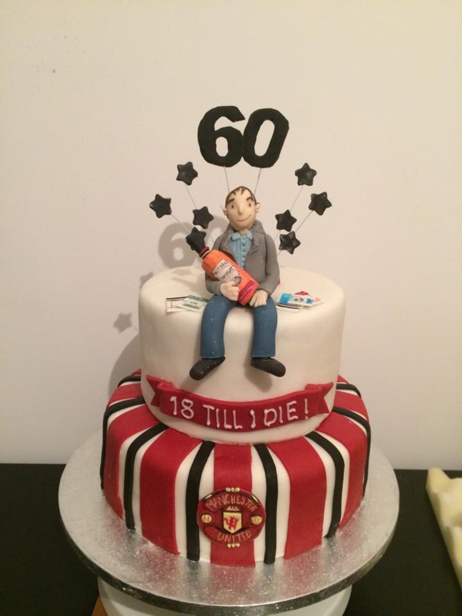 Manchester United Th Birthday Cake