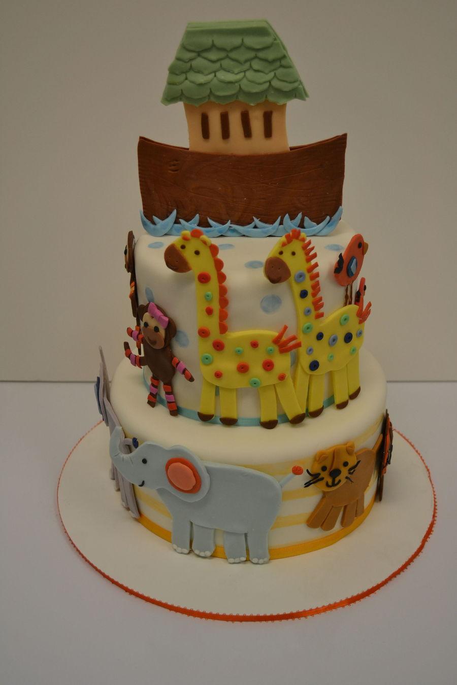 noah's ark baby shower cake  cakecentral, Baby shower invitation