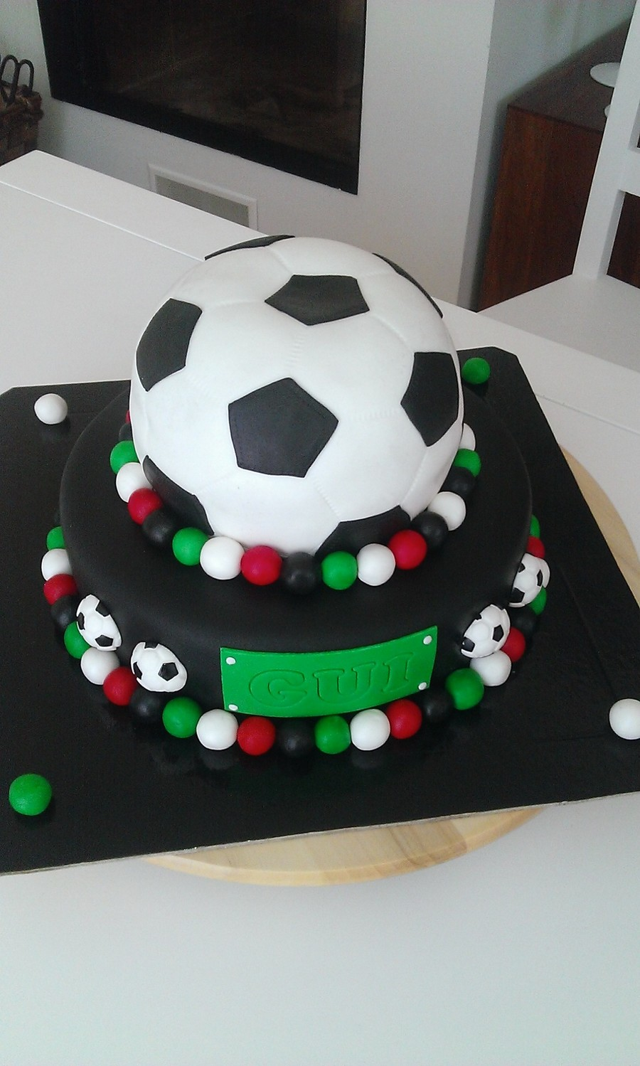 Football Soccer Birthday Cake Cakecentral