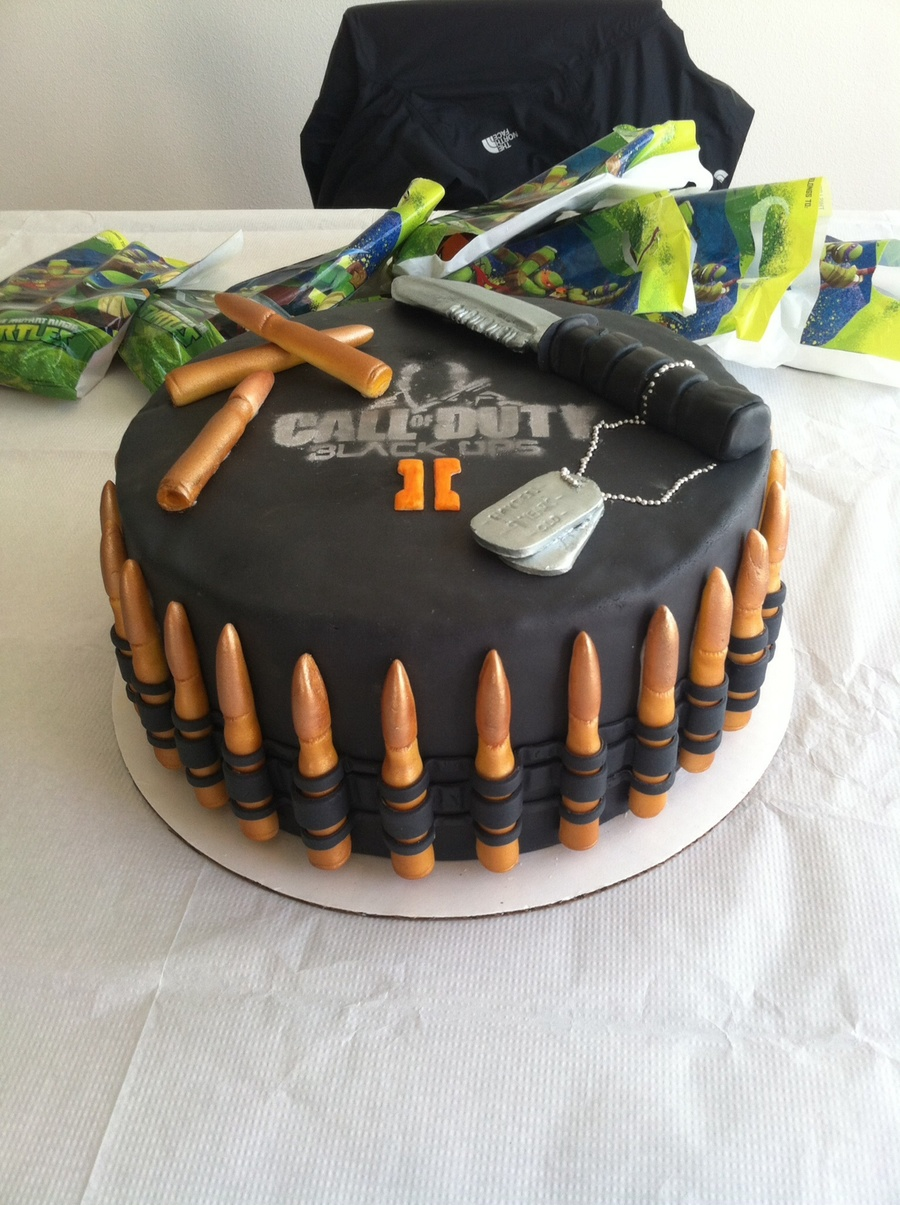 call of duty black ops 2 birthday cake - cakecentral