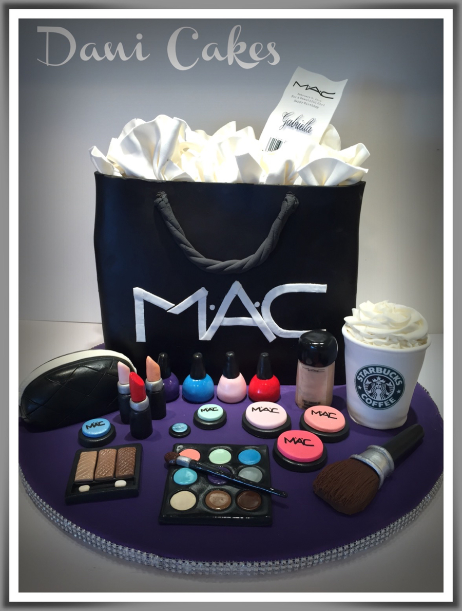 Mac Cosmetic Birthday Cake - CakeCentral.com