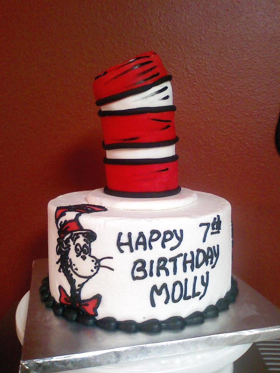 Cat In The Hat on Cake Central