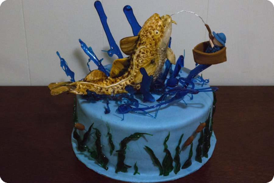 Fishingpng on Cake Central