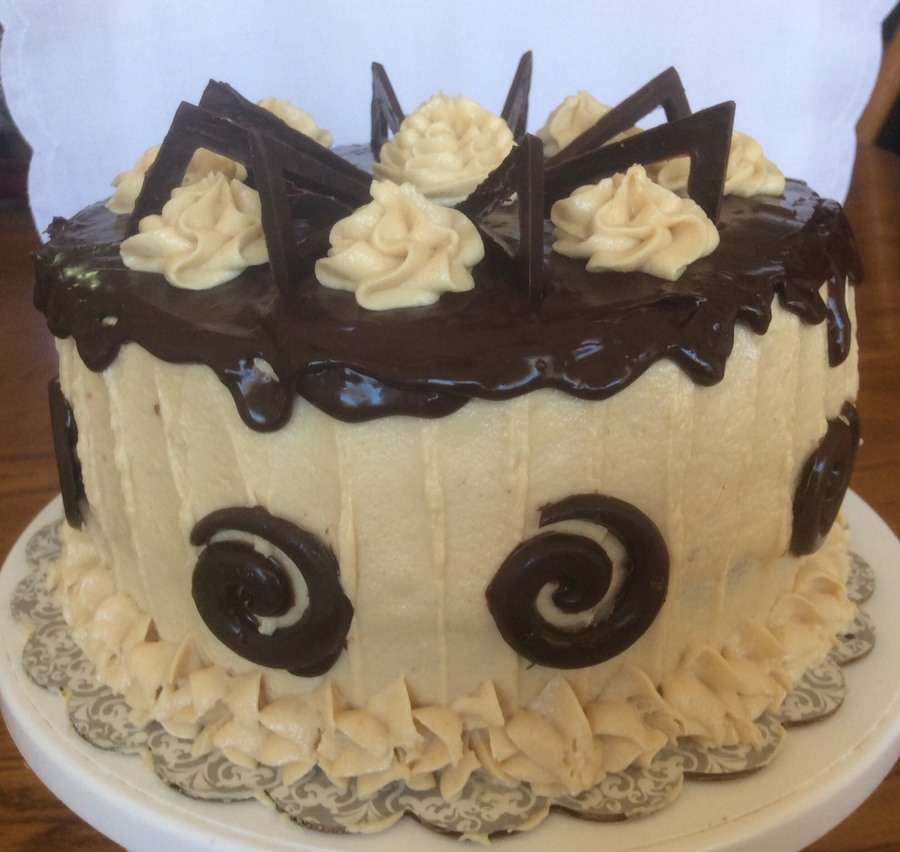 Reeses Cake With Peanut Butter Frosting