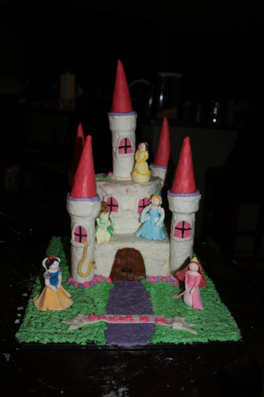 Princess Castle Cake  on Cake Central