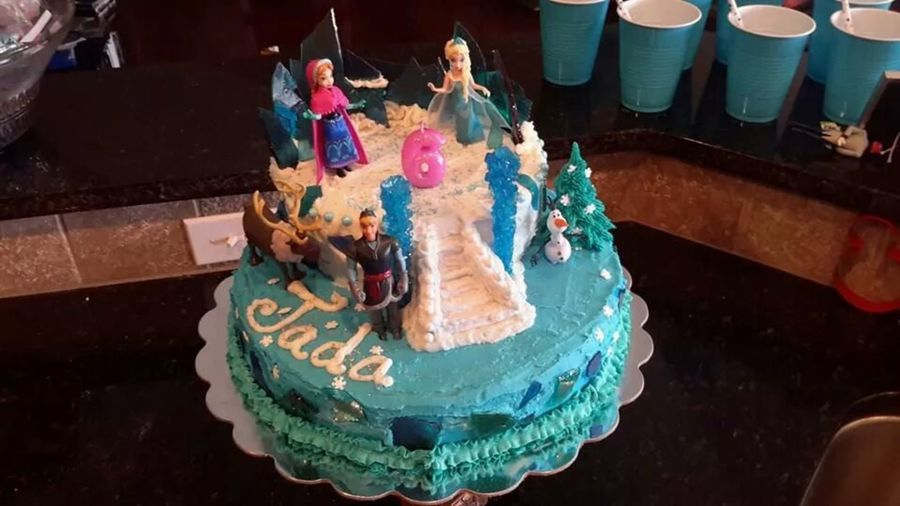 Sensational Disney Themed Birthday Cakes Cakecentral Com Funny Birthday Cards Online Inifodamsfinfo