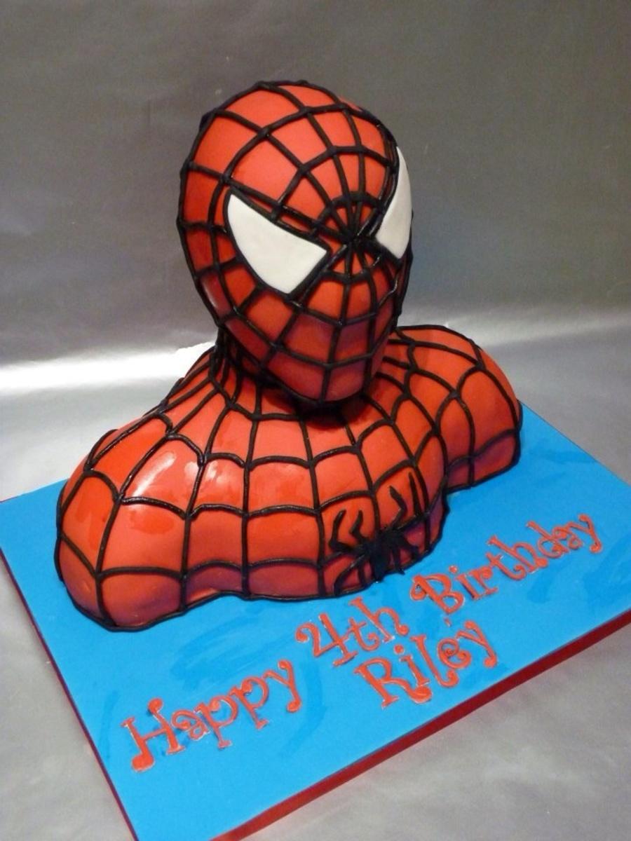 3d Spiderman Cake Cakecentral Com