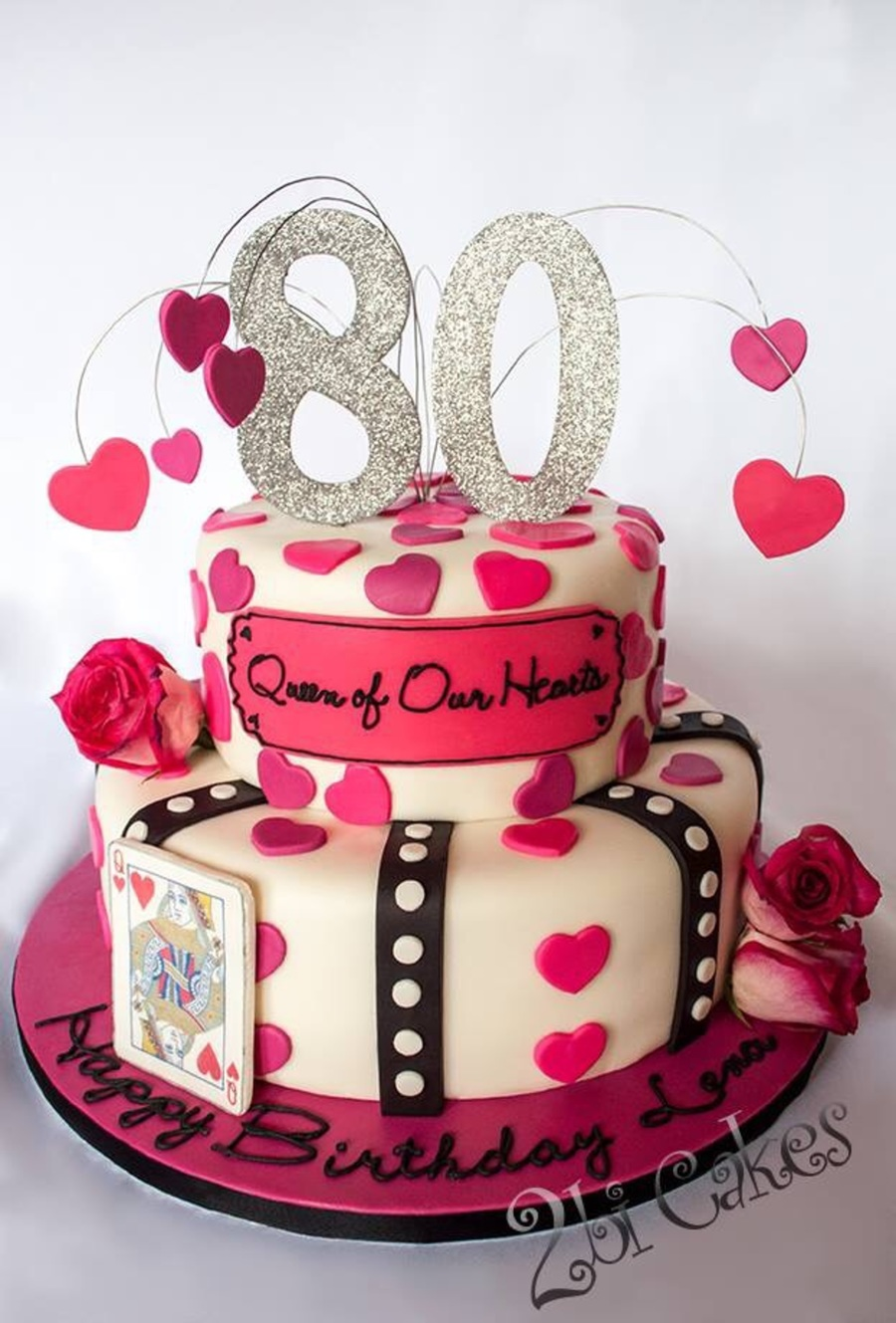 Queen Of Hearts Birthday Cake Cakecentral Com