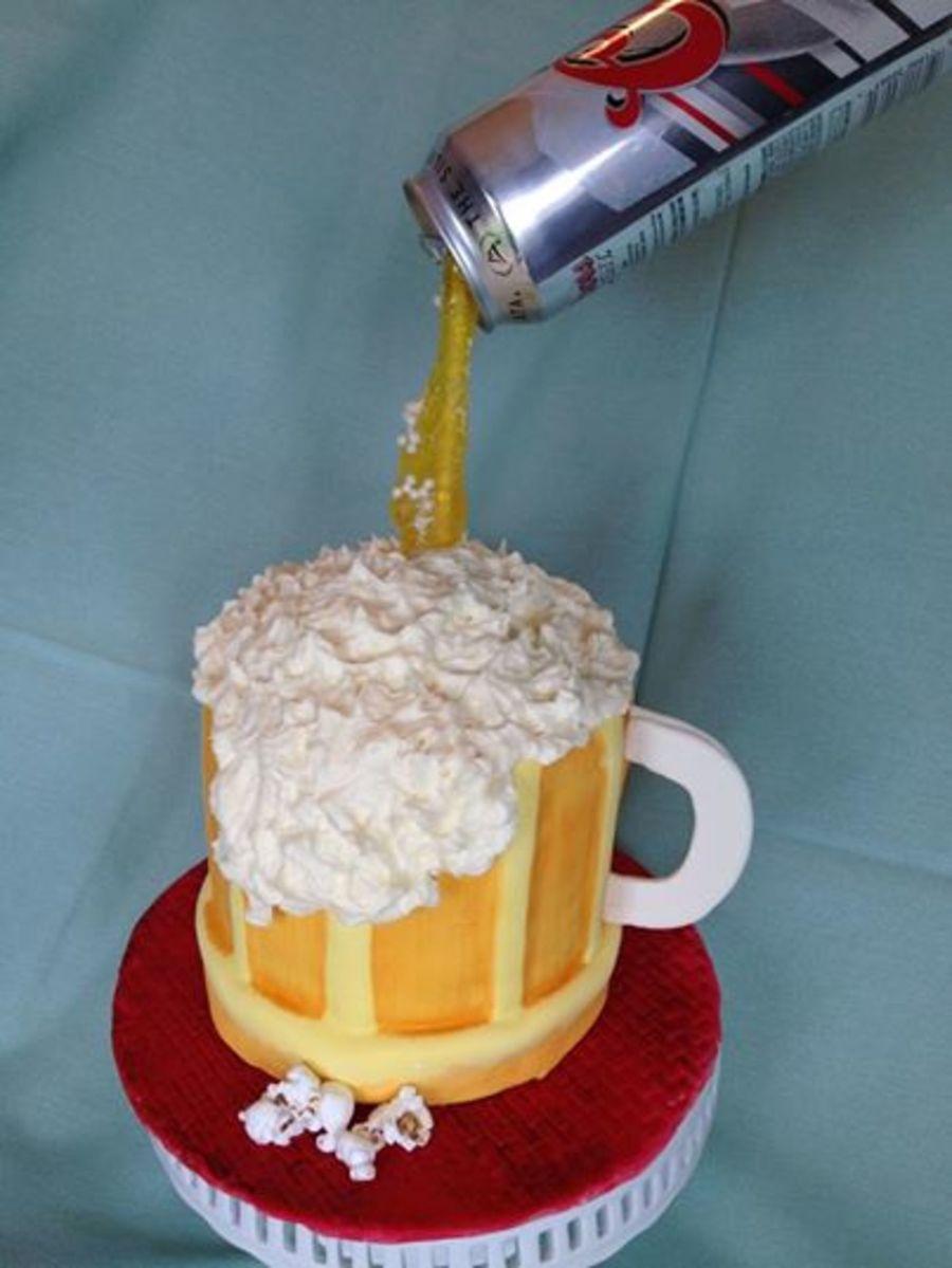 Anti gravity beer cake - Gravity cake noel ...