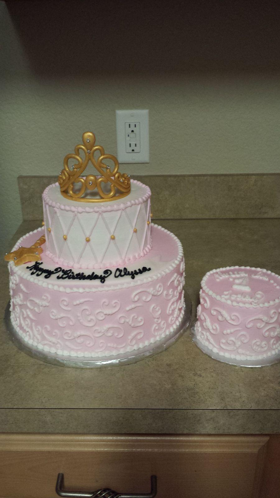 Stupendous Babys 1St Princess Birthday Cake Cakecentral Com Funny Birthday Cards Online Amentibdeldamsfinfo