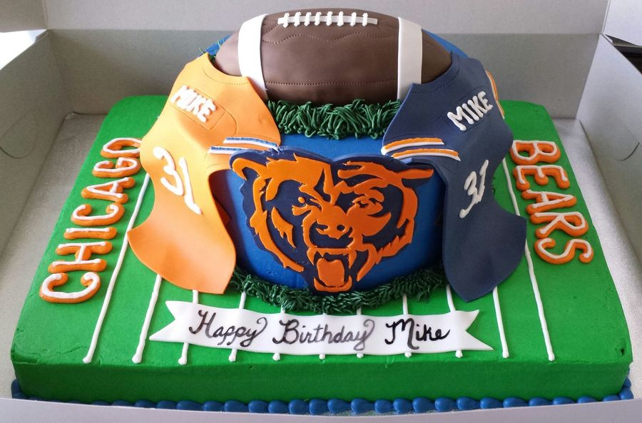 Chicago Bears Cake Cakecentral